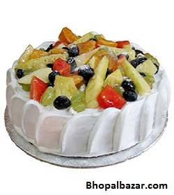 Fresh Mixed Fruit Cake