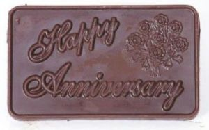 Happy Anniversary Chocolate