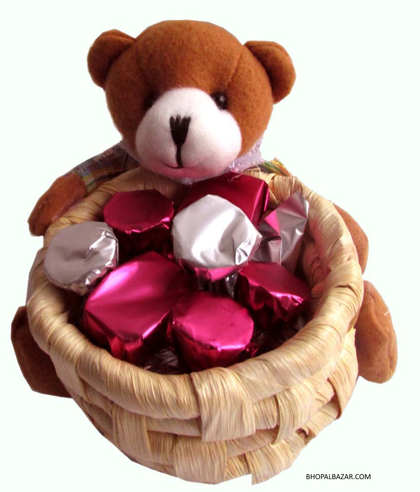 Teddy with Basket