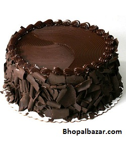 Eggless Chocolate Fudge Cake