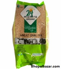24 Mantra Organic Wheat Daliya