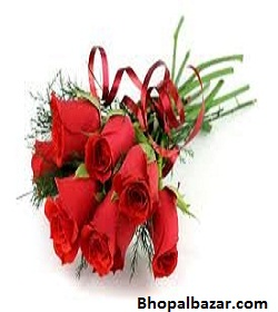 Long Stemmed Red Roses Bunch