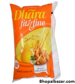 Dhara Fit N Fine Refined Soyabean Oil