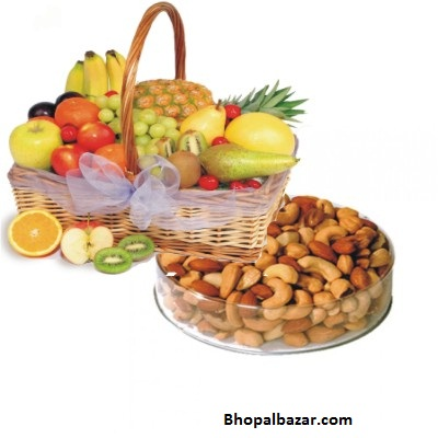 Fruit Basket With Dry Fruits