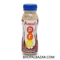 AMUL KOOL KESAR FLAVOURED MILK 200 ML PET BOTTLE PRO